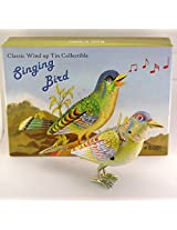 Wind Up Tin toy song bird Jubilierender SingvogelKohler Germany reproduction