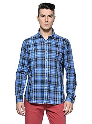 Rodrigo Camisa  Stevie (Azul / Azul Tinta)