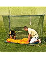 Mosquito Net for Large Big Double Bed 7 x 7 Feet - (Black)