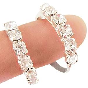Rituals Designer Toe rings in german silver