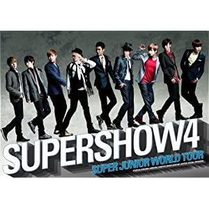 『SUPER JUNIOR WORLD TOUR SUPER SHOW4 LIVE in JAPAN 』