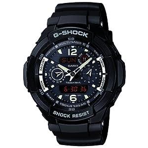 【クリックで詳細表示】[カシオ]CASIO 腕時計 G-SHOCK ジーショック SKY COCKPIT スカイコックピット タフソーラー 電波時計 MULTIBAND 6 GW-3500BB-1AJF メンズ