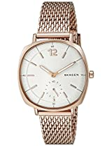 Skagen Rungsted Analog White Dial Women's Watch - SKW2401