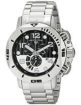 Swiss Legend Men's 10538-11 Scubador Analog Display Swiss Quartz Silver Watch
