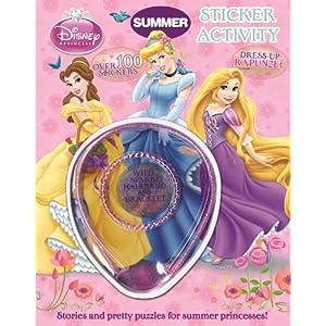 Princess Bumper Sticker Activity. (Summer Annual)