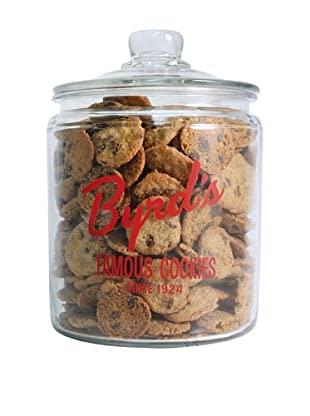 Byrd Cookie Company Logoed Jar with Chocolate Chip Cookies, 1lb