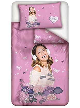 Disney Bettwäsche Violetta Rose