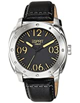 Esprit Analog Black Dial Men's Watch - ES106381001-N