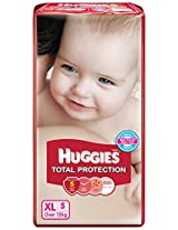 Huggies Total Protection Diapers Extra Large - 5 Count