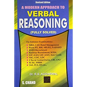 A Modern Approach to Verbal Reasoning (FULLY SOLVED)