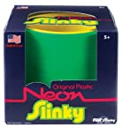 POOF-Slinky Model #122 Plastic Neon Original Slinky in Box, Single Item, Assorted Colors