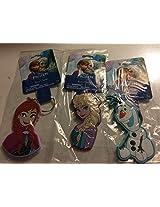 Disney Elsa Anna Olaf Soft Touch Key Ring