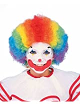 Forum Child Clown Wig, Rainbow