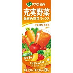 【クリックで詳細表示】伊藤園 充実野菜 緑黄色野菜ミックス 200ml×24本: 食品・飲料・お酒 通販
