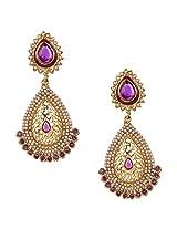 Ethnic Indian Bollywood Jewelry Set Traditional Fashion Pearl EarringsISREA050PU