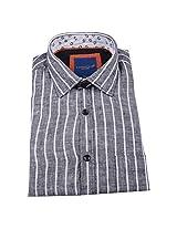 Linen Club Formal Shirt Grey