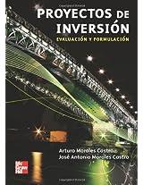 Proyectos de Inversión. Evaluación y Formulación