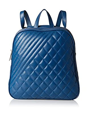 Zenith Women's Quilted Backpack, Navy