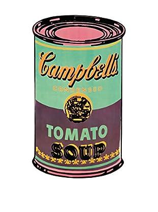 ArtopWeb Panel de Madera Warhol Campbell S Soup Can, 1965