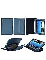 "Flip case cover for Lenovo Yoga 2 Tablet 1050L 10"" Tab Tablet (Dark Blue) (Magnetic Closure) (Auto Sleep/Wake)"