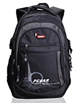 F Gear Apollo Black Grey Laptop Backpack