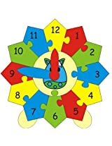 Skillofun Construction Your Clock , Multi Color