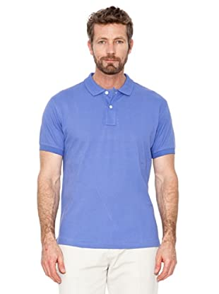 Cortefiel Polo Basic (Blau)