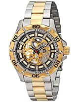 Invicta Men's 15229 Specialty Analog Display Mechanical Hand Wind Two Tone Watch