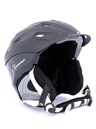 Carrera Casco de Esquí CA E00412 MAUNA BLACK MAT WHITE (negro)