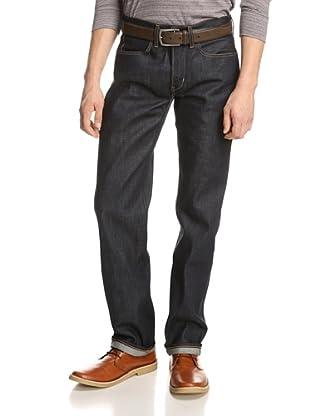 Paper Denim & Cloth Men's Selvage Straight Jean (Virgin/Medium Wash))