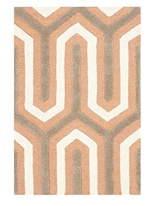 Safavieh Cambridge Rug, Orange/Grey, 2' x 3'