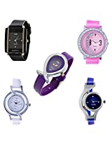 HORSE HEAD (LIMITED STOCK) (SPECIAL EDITION ) DESIGNER WATCHES COMBO FOR WOMENS AND GIRLS ...