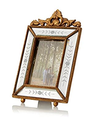 Bethel International Mirrored Photo Frame (Gold)