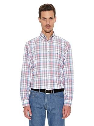 Tenkey Camisa Leon (Gris / Rosa)
