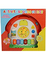 Light & Music Activity Sounds House