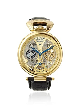 Stuhrling Men's 127A2.333519 Special Reserve Black/Gold Stainless Steel Watch