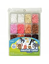 Perler Fused Bead Tray 4000/Pkg Neutral Color