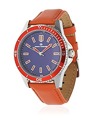 TOM TAILOR Quarzuhr 5412503 orange 42 mm