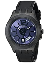 Swatch Analog Black Dial Men's Watch - YTB400