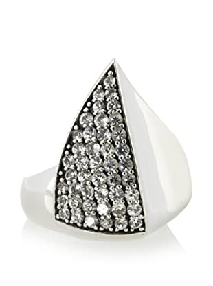Elizabeth and James Sterling Silver Thorn Ring