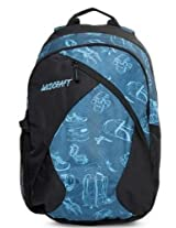 Wildcraft Stride EQ Polyester Blue Casual Backpack(8903338018643)