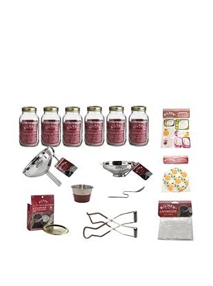 Kilner Set of 6 Canning Preserve Jars (Fruit Blossom)