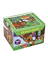 Emily Green Jigsaw Puzzle, Oh Deer, 25-Piece