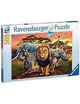 Ravensburger African Splendor Jigsaw Puzzle (500 Pieces)