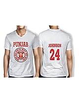 Anger Beast Johnson Punjab White Sweat Free T shirt P JOH 00