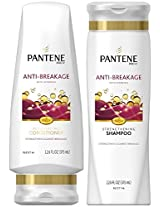 Pantene Pro V Anti Breakage, Duo Set Shampoo + Conditioner, 12.6 Ounce, 1 Each