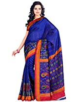 Gugaliya's Embellished Fashion Art Silk Sari Saree 5123