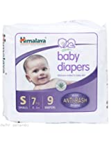 Himalaya Herbals Baby Diaper S Size Small 9 Diapers
