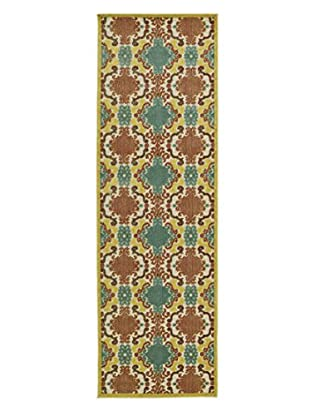 Kaleen Five Seasons Indoor/Outdoor Rug, Gold, 2' 6