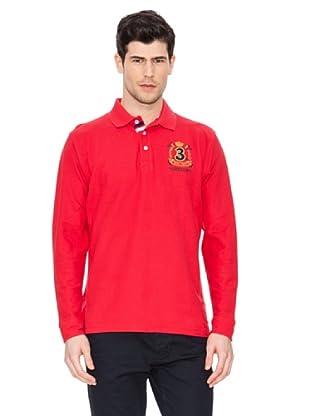 Valecuatro Polo Básico Parche (Rojo)